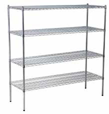 Chrome Shelf Racking Set C