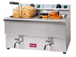 EFD8 Twin Tank Fryer