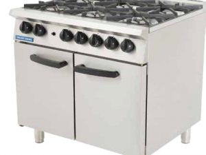 G750-6 NAT / LPG GAS Six Burner Cooker
